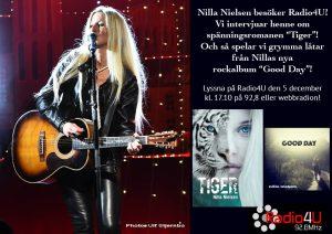 Nilla Nielsen intervju i Radio4U